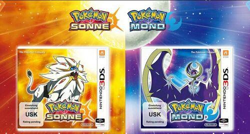 Pokemon Sonne und Mond