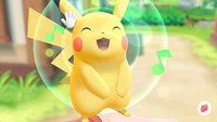 Pokémon Let's Go - Screenshot 01 - Pikachu