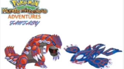 Adventures Fantasy - Kyogre & Groudon