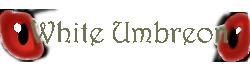 Logo White Umbreon