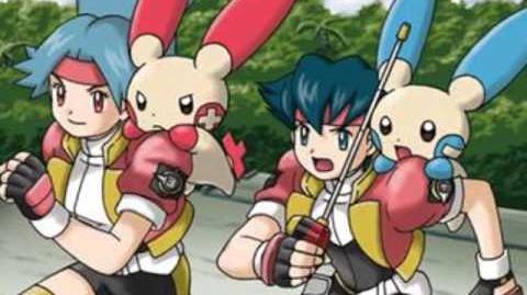 Pokémon Ranger y el oráculo de los cielos Op
