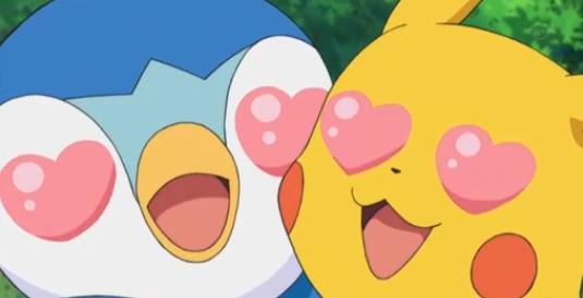 Pikachu X Piplup 2