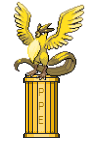 Articuno pedestal
