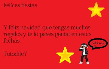 Feliz navidad totodile7
