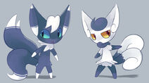 Meowstic by bukoya star-d6lwc0i