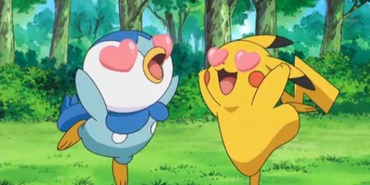 Pikachu X Piplup 3