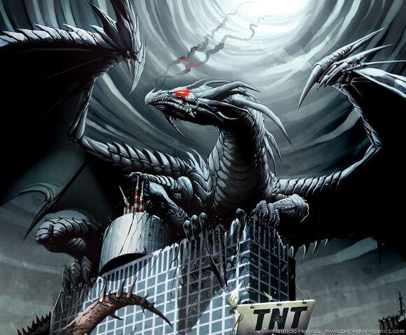 File:Black dragon on skyscraper by el grimlock.jpg