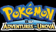 Pokemon BW Adventures in Unova logo