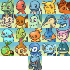 The Player (Pokémon Mystery Dungeon Explorers of Time, Darkness and Sky)