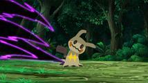 Mimikyu de Haru usando garra umbría