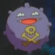 James's Weezing as Koffing