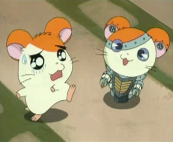 Hamtaro and Joe