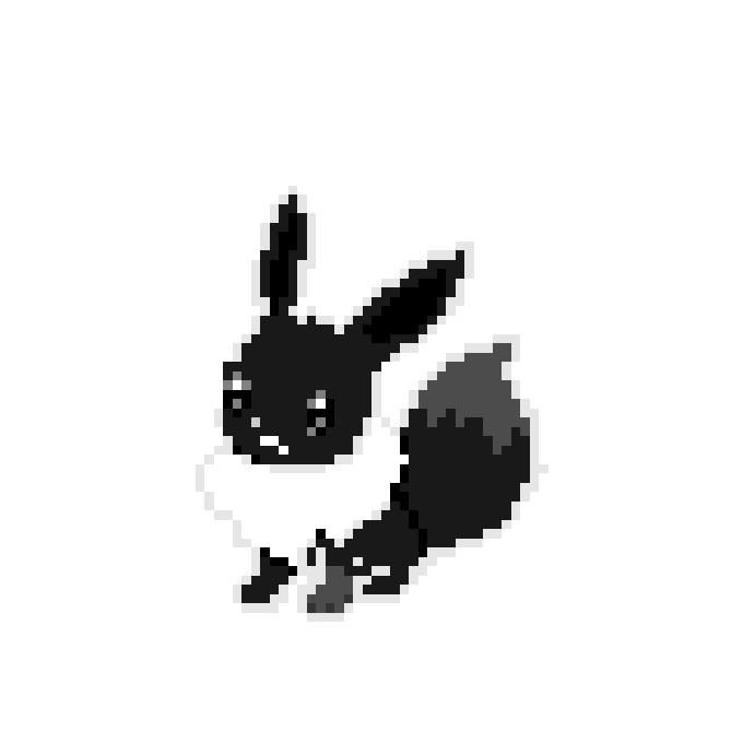 Darkened Eevee