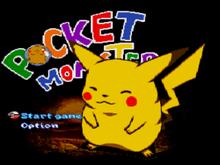 PocketMonster SNES and MEGADRIVE