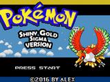Pokémon Shiny Gold Sigma