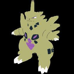 Mega Tyranitar Shiny
