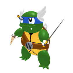 Ninja Wartortle