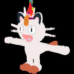 Meowth Birthday