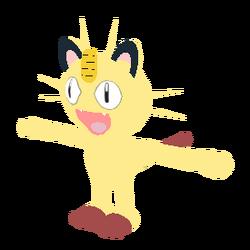Meowth Shiny