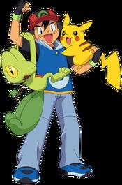 Ash-Pikachu-Treecko