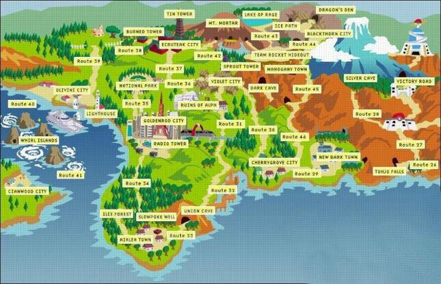 Johto-map