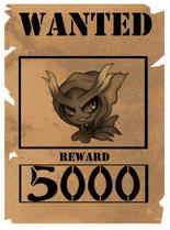 Misdreavus wanted poster by aerisarturio-d6gdoci