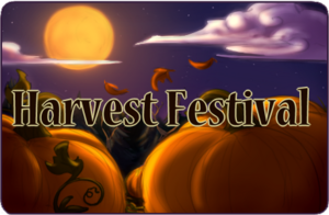 Harvest Fest Button