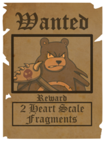 October Wanted Poster