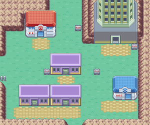 Kanto Lavender Town Map