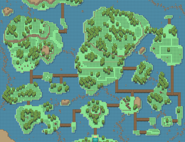 Hoenn Safari Zone Map