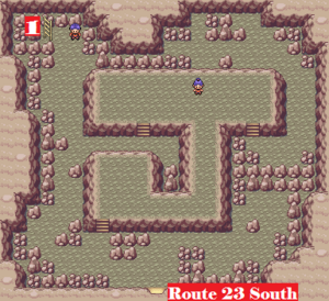 Kanto Victory Road F1 Map