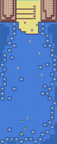Kanto Route 19 Map