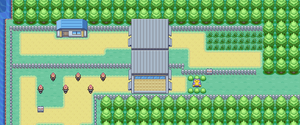 Kanto Route 16 Map