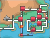 Kanto Pallet Town Map