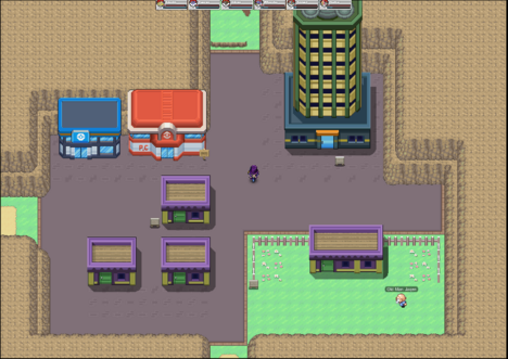 Walkthrough Pokemon Planet Upon defeating the last trainer, the player will ride an elevator straight down to the gym leader. walkthrough pokemon planet
