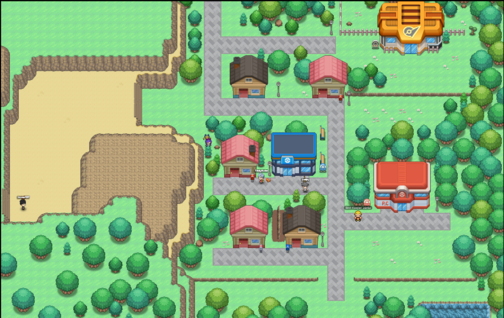 Walkthrough viridian-city