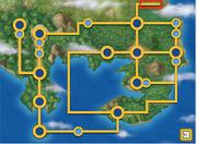 Route 25 location Pokemon Planet