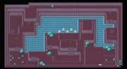 Kanto Cerulean Cave F1 Map