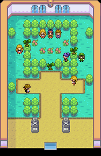 Celadon Gym Map