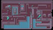 Kanto Cerulean Cave F3 Map