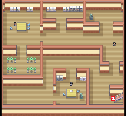 Kanto Pokémon Mansion F0 Map