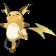 Pokemon Raichu