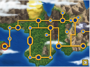 Johto Safari Zone Map