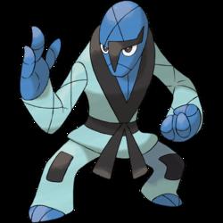 Pokemon Sawk