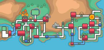 Cerulean City map