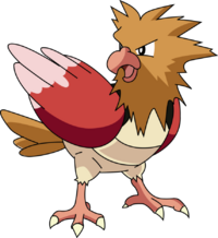 21 spearow vector by inkomingvirus-d5cy2ob