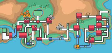 Cinnabar Island map