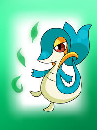 Shiny snivy by sasodeifangirl13-d5h278a