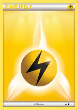 Lightning Energy Card