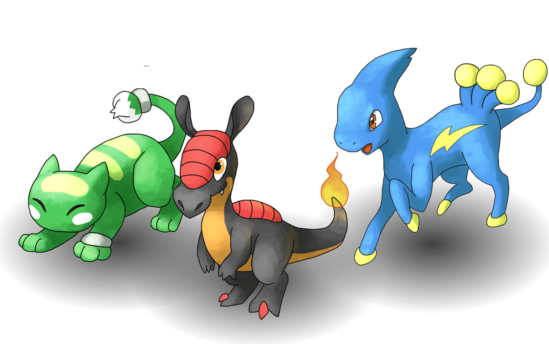 starter pokémon pokémon uranium wiki fandom powered by wikia